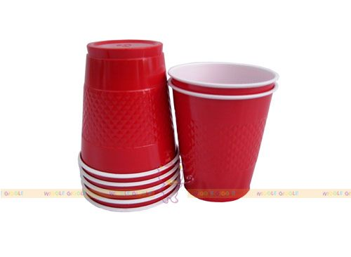 Red Plastic Cups  Visit us at www.wigglegiggle.com