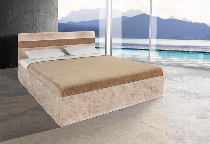 die besten 25 polsterbett mit bettkasten ideen auf. Black Bedroom Furniture Sets. Home Design Ideas
