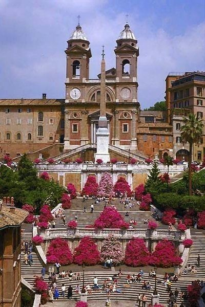 'The Spanish Steps'.. Rome, Italy