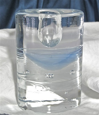 "ARKTIA IITTALA CRYSTAL BLUE VOTIVE CANDLE HOLDER TIMO SARPANEVA 4 1/4"" FINLAND                            Seller information  justinsublime (1556  )      100% Positive feedback  Save this seller  See other items     AdChoice  Item condition:--  Time left: 5h 16m 25s (Feb 14, 2013 17:46:11 PST)  Starting bid:US $7.99  [ 0 bids ]"