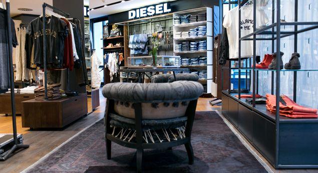 Diesel black gold shop, store