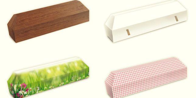 Cercueil en carton - Économique et Écologique