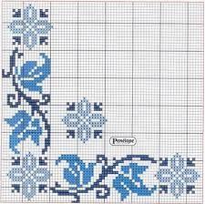 Resultado de imagen para mantel bordado en punto de cruz