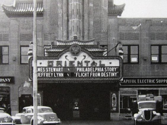 The Oriental theater late early 1940s, Mattapan Square, Dorchester, Mass.