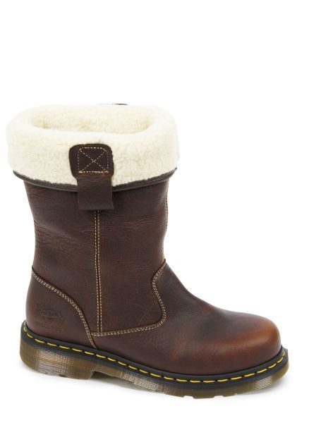 Dr Martens Rosa ST Ladies Fur Lined Rigger Boot Gaucho