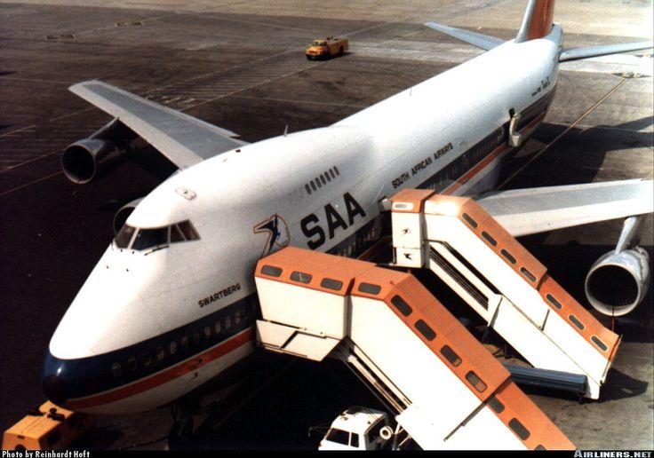 SAA 747-200 Swartberg Jan Smuts airport