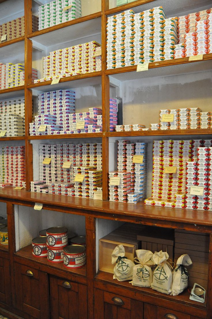 Canned fish store