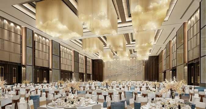Hilton Shenzhen Shekou Hotel, China - Ballroom