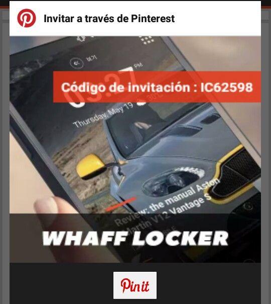 IC62598 gana dinero con este   codigo  introduce el código de invitación : [ IC62598 ] y consigue $0,300!!! https://play.google.com/store/apps/details?id=com.whaff.whafflock