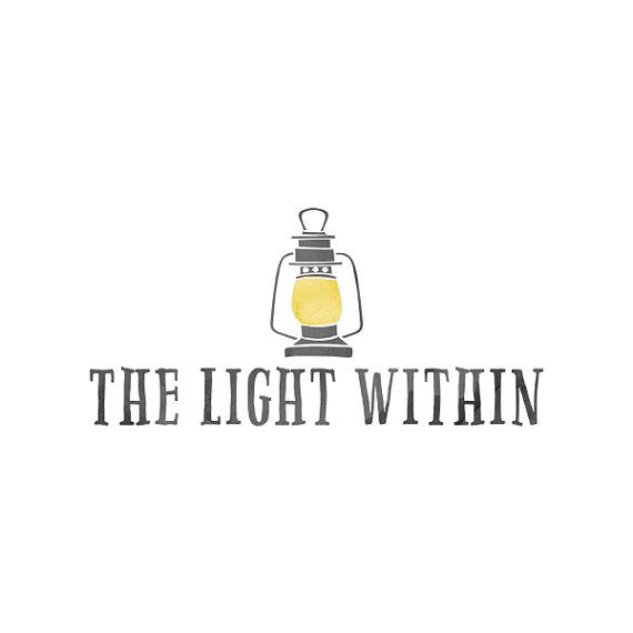 Light Logo Lantern Logo Psd File Lamplight par QuietForestDesign