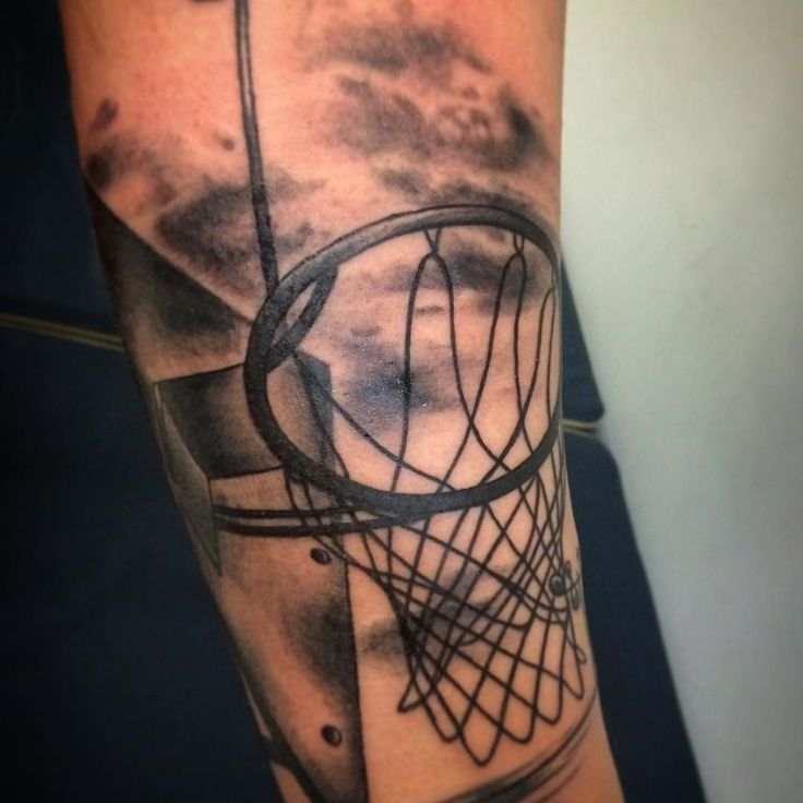 Pin by Top World Tattoo on Top Worlds Tattoos | Basketball ...