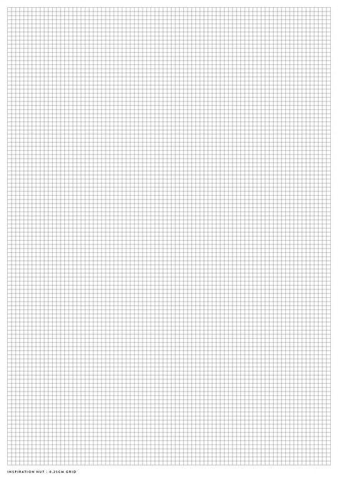 Printable Graph / Grid Paper PDF Templates - Inspiration Hut (for intarsia and fairisle patterning)