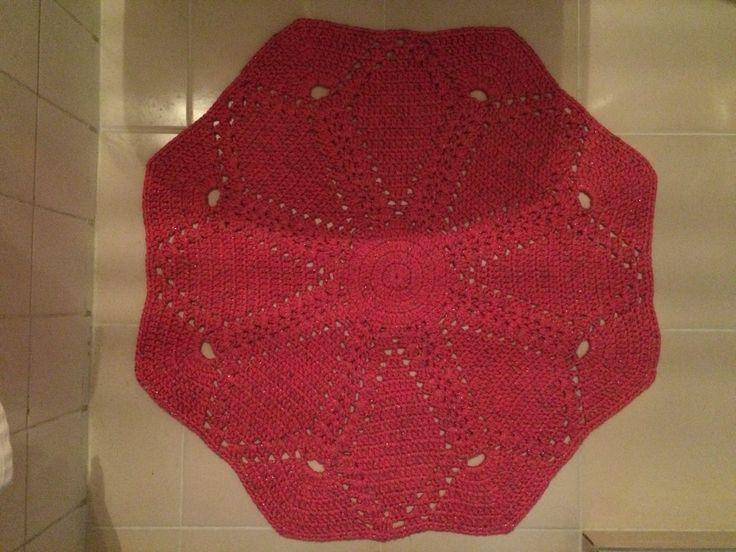 #crochet #handmade #rug