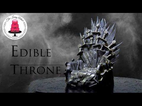 Game Of Thrones Fondant Edible Throne Tutorial