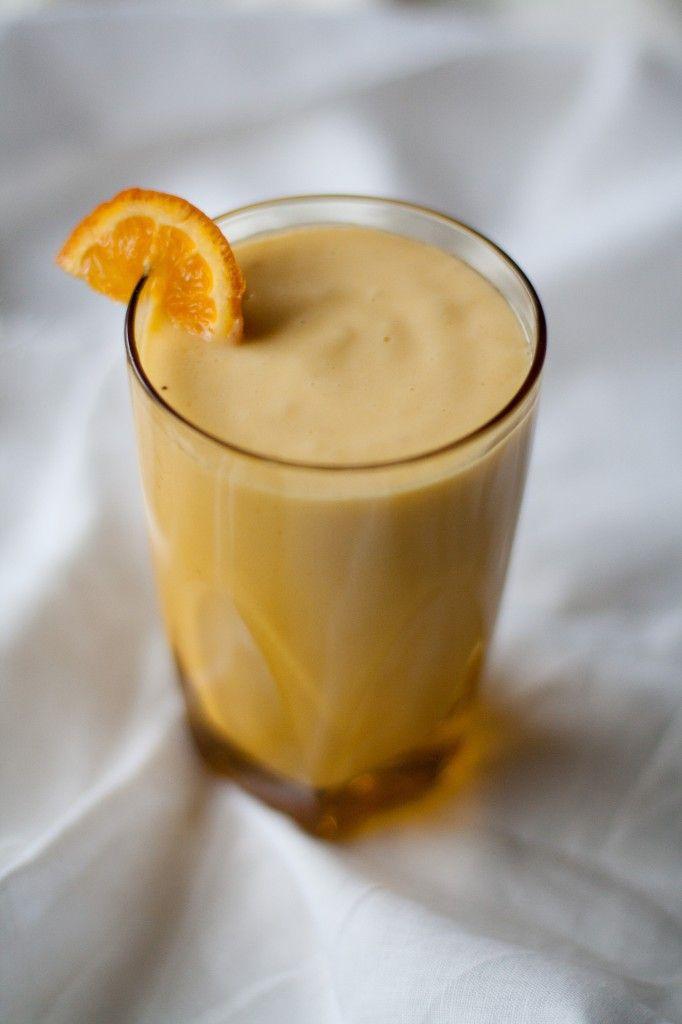 Mango Tangelo Smoothie: 1 mango, 1 tangelo, 1 banana (frozen), 1/2 cup ...