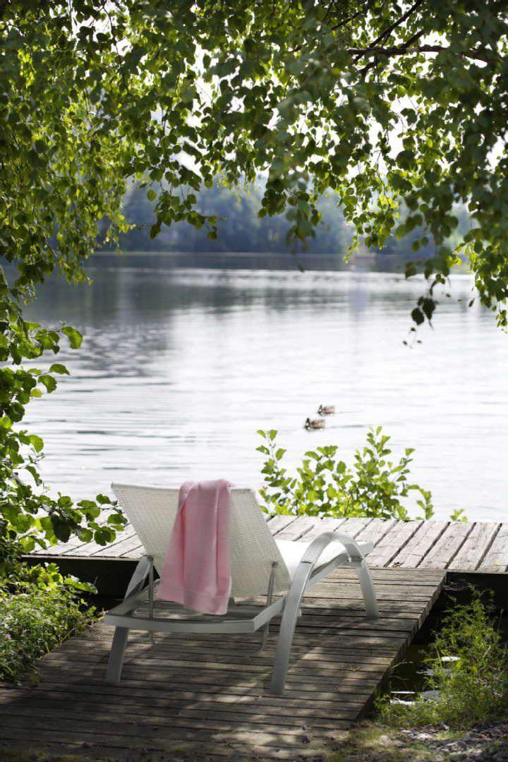 Au bord du lac ..