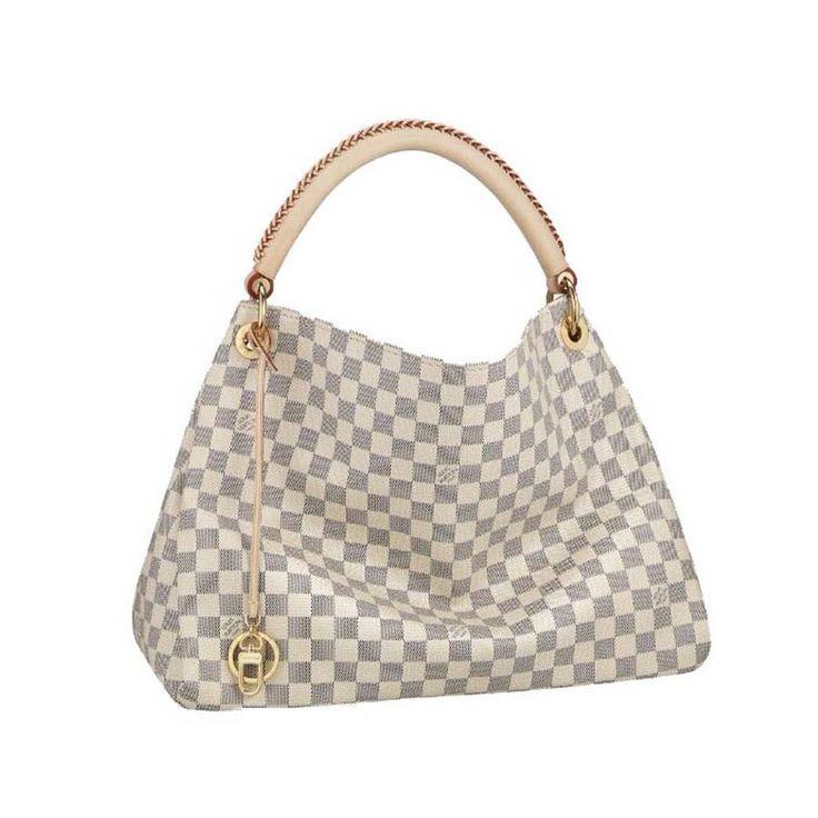Louis Vuitton Artsy MM White Totes N41174 #LV #LVbags