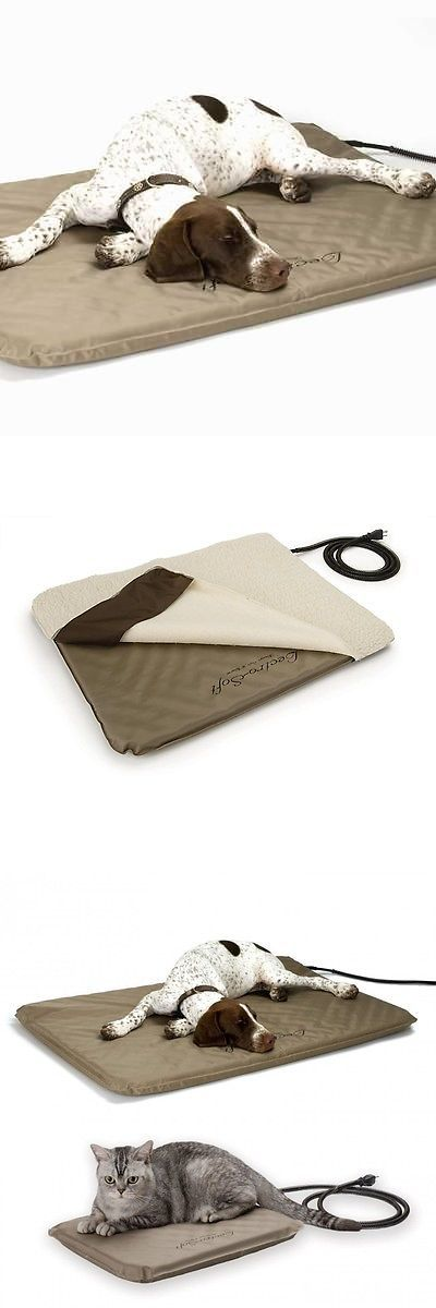 Beds 20744: Kandh Large Indoor Outdoor Soft Lectro Heated Dog Bed Mat Free Fleece Cover Kh1090 -> BUY IT NOW ONLY: $87.95 on eBay!
