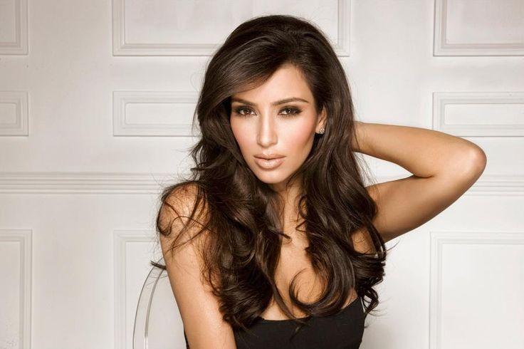 Celebrity Makeup Crush - Kim Kardashian ~ The Fancy Girl Blog: Kardashian Hair, Kimkardashian, Hairstyles, Hair Styles, Kim Kardashian, Makeup, Beauty, Beautiful People, Hair Color
