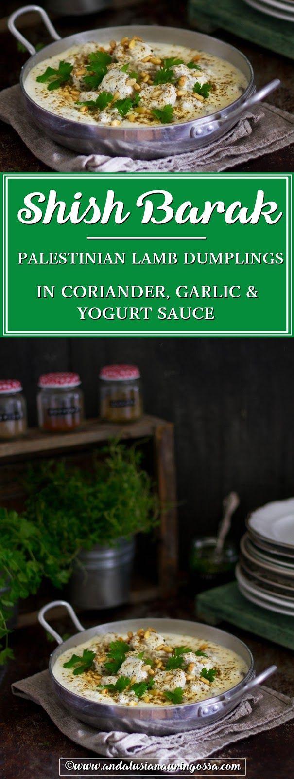 Shish Barak, lamb dumplings in coriander, garlic and yogurt sauce is one of my fondest Palestinian food memories. Here's my recipe (and it is yummy!)   * * *   food blog food photography comfort food Palestinian food Palestinian kitchen Middle Eastern foo