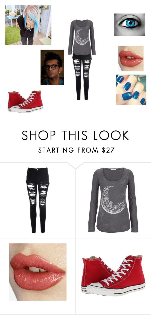"""Juliet Emma Allen"" by smoshergirl143 ❤ liked on Polyvore featuring Glamorous, maurices and Converse"