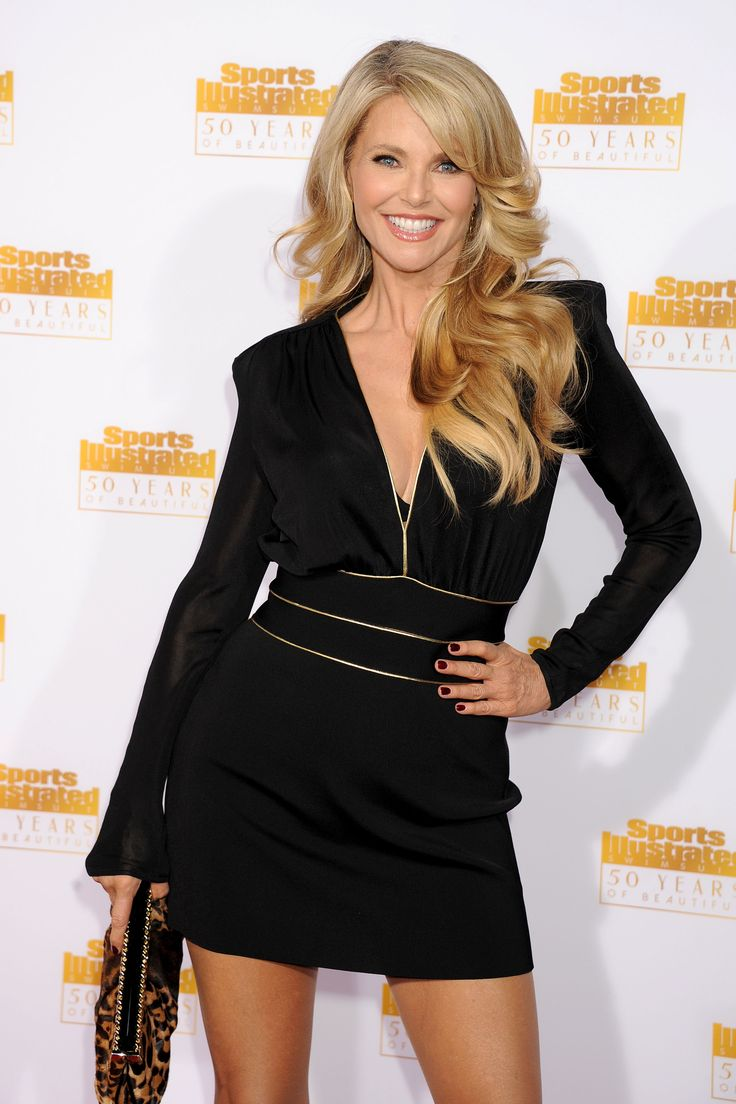 Christie Brinkley 50th anniversary of the Sports