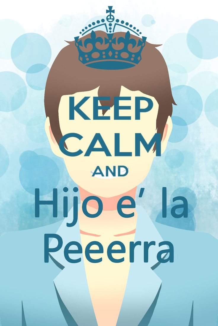GOTH - Keep Calm And Hijo e' La Perra | by MoMo-Tan-x3
