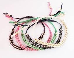 καλής ποιότητας Τα χειροποίητα κοσμήματα μόδας έπλεξαν το βραχιόλι που έγινε από το βαμβάκι, χάντρες, νάυλον, ασήμι πωλήσεις