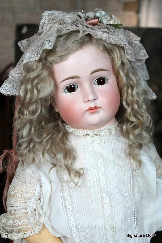 Early Kestner Pouty Child in all Antique Clothing~25