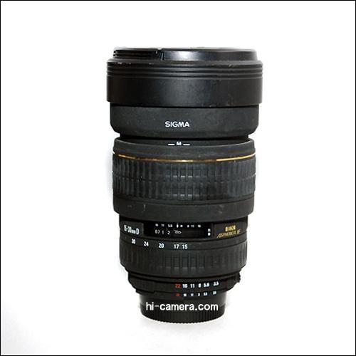 Sigma 15-30mm F3.5-4.5 for nikon