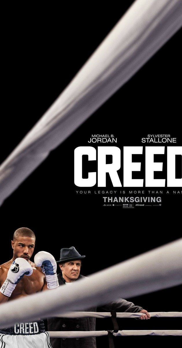 Directed by Ryan Coogler.  With Michael B. Jordan, Sylvester Stallone, Tessa Thompson, Phylicia Rashad. The former World Heavyweight Champion Rocky Balboa serves as a trainer and mentor to Adonis Johnson, the son of his late friend and former rival Apollo Creed.