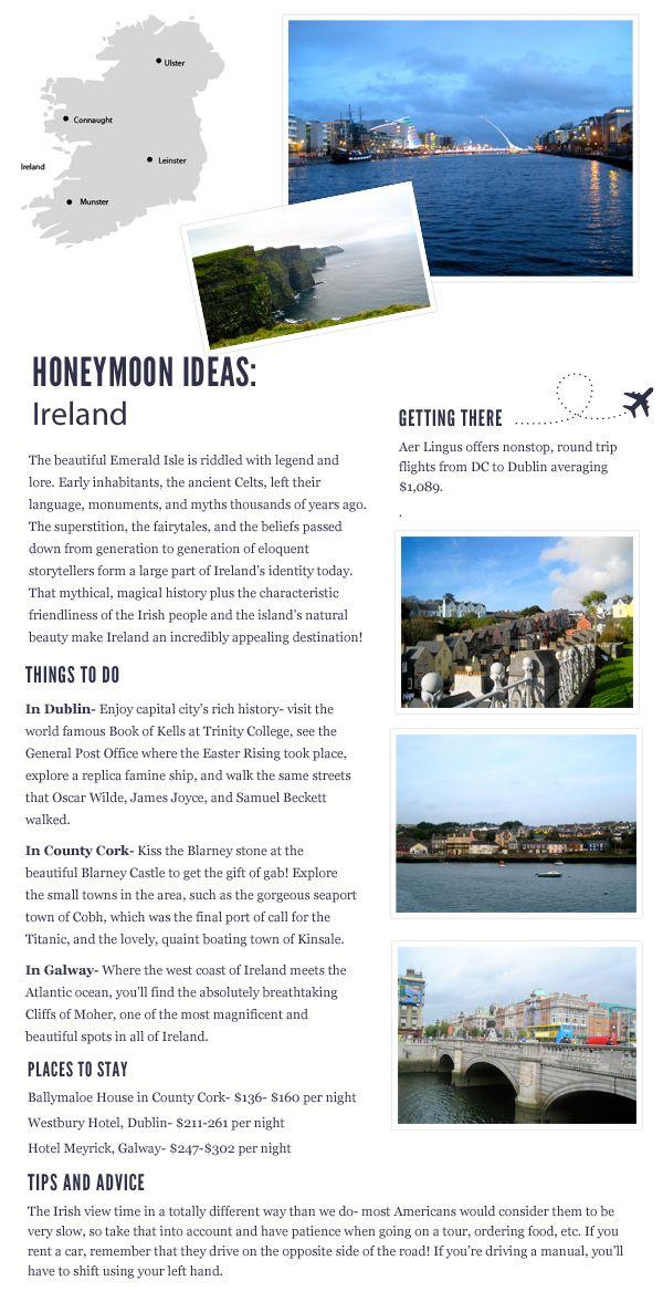 Honeymoon in Ireland | Travel Inspiration via Bayside Bride