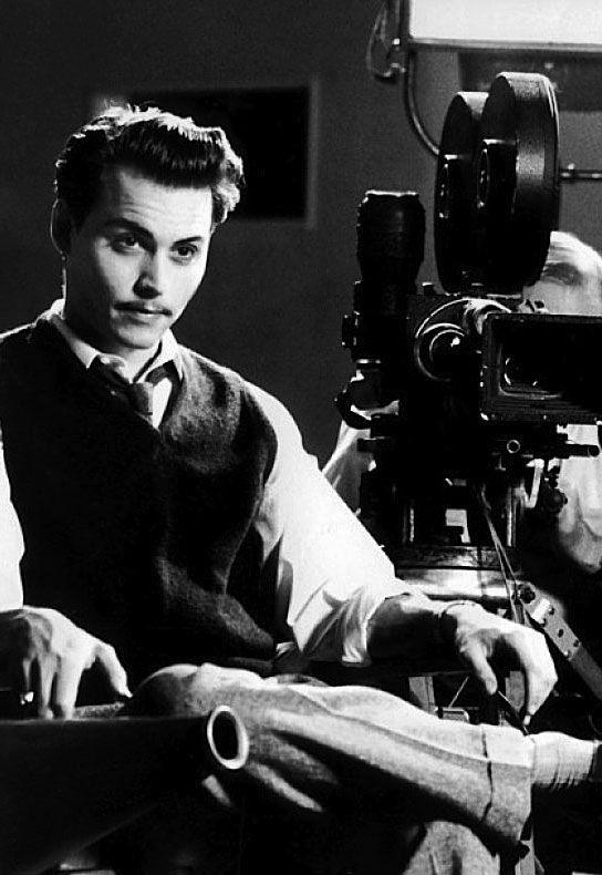 Johnny Depp as Ed Wood, Ed Wood (1994)