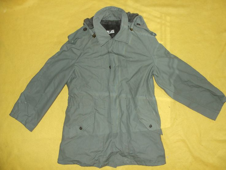 Portuguese Army cold weather parka.