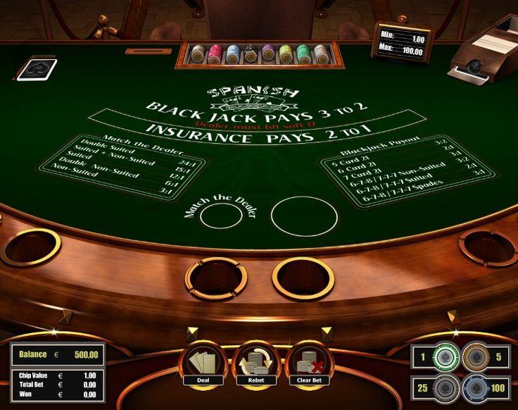Spanish Blackjack! For more games register on http://casino-goldenglory.com/