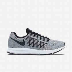 wholesale dealer 811d6 e9ded Nike Womens Pure PlatinumDark GreyBlack Air Zoom Pegasus 32 Running Shoe