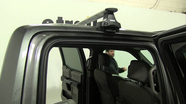 Review of the Thule Roof Rack on a 2016 Ford F-150 - etrailer ...