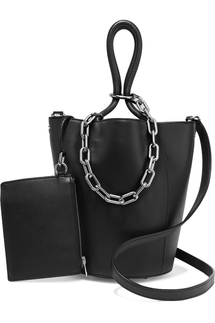 Alexander Wang | Roxy chain-embellished leather tote | NET-A-PORTER.COM