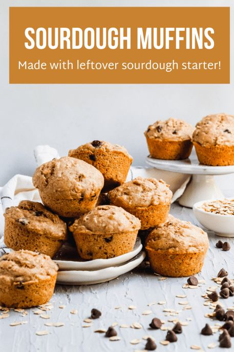 Sourdough muffins are the perfect way to use sourdough starter discard. If you bake sourdough bread, you have sourdough…