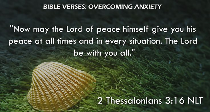 """""""Now may the Lord of peace himself give you his peace at all times and in every situation. The Lord be with you all."""" 2 Thessalonians 3:16 NLT"""