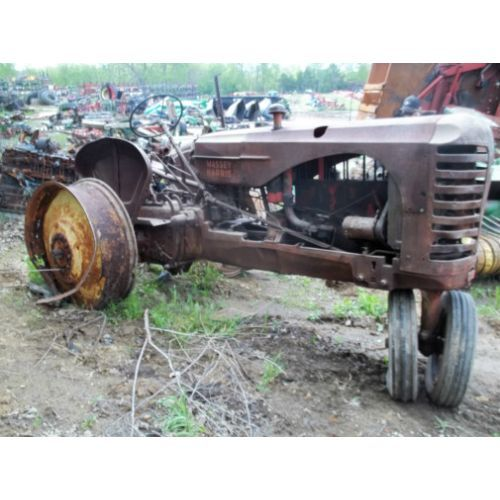 Recycled Tractor Parts : Used parts for a massey harris tractor call
