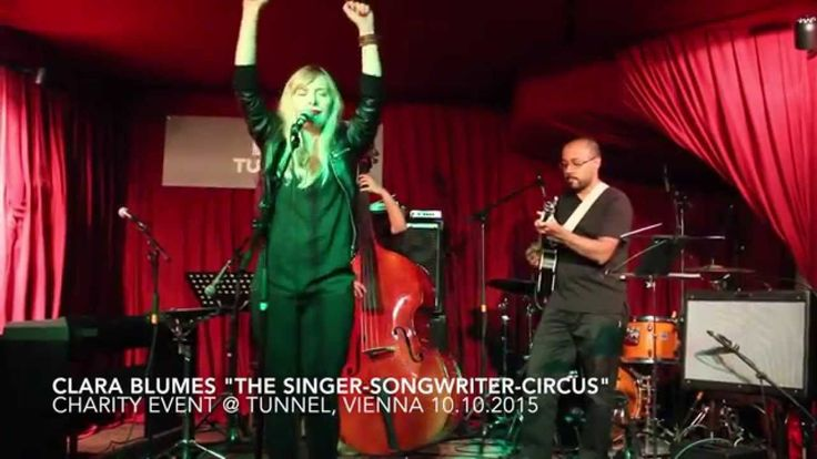 """Liked on YouTube: """"Sonic Boom """" - Victoria Benesch @ Clara Blumes """"Singer-Songwriter-Circus"""""""