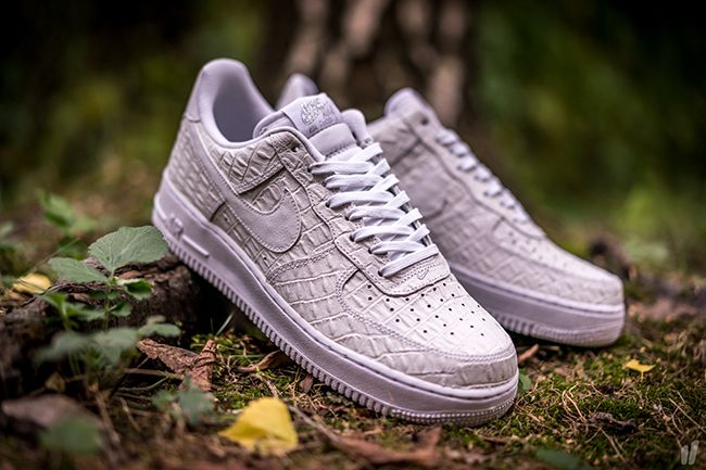 White Croc Nike Air Force 1 Low | Nike