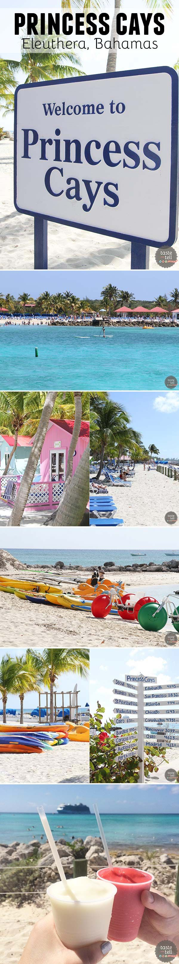A look at Princess Cays – Princess Cruises exclusive port of call on the island Eleuthera in the Bahamas. Relax on the white sand beaches or participate in a variety of water sports.