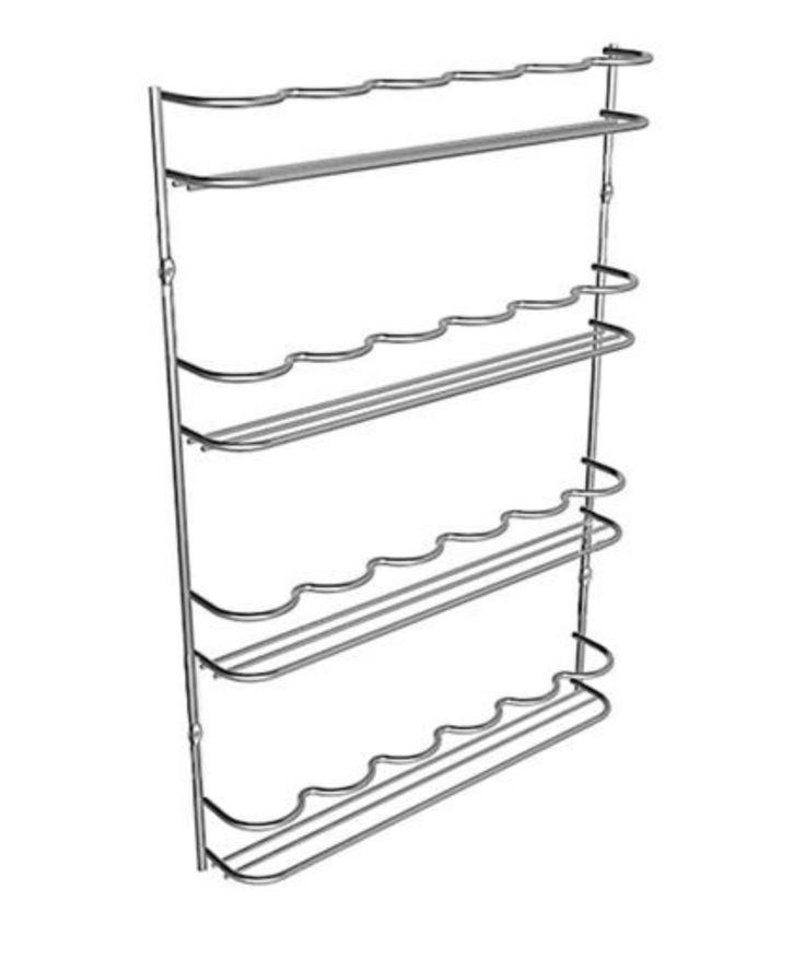 <p> <strong>Kryddhylla för kökslucka</strong></p> <p> Kryddhyllamed modern design som ger enbra överblick och godförvaring avdina kryddor. Kryddhyllan kan skruvas fastpå insidan av en kökslucka, påen frisida, på sidan avett köksskåp ellerdirekt på väggen.Den kan även monterasunder väggskåpen direkt motstänkskyddet. I kryddstället passar alla vanliga små kryddburkar.</p>