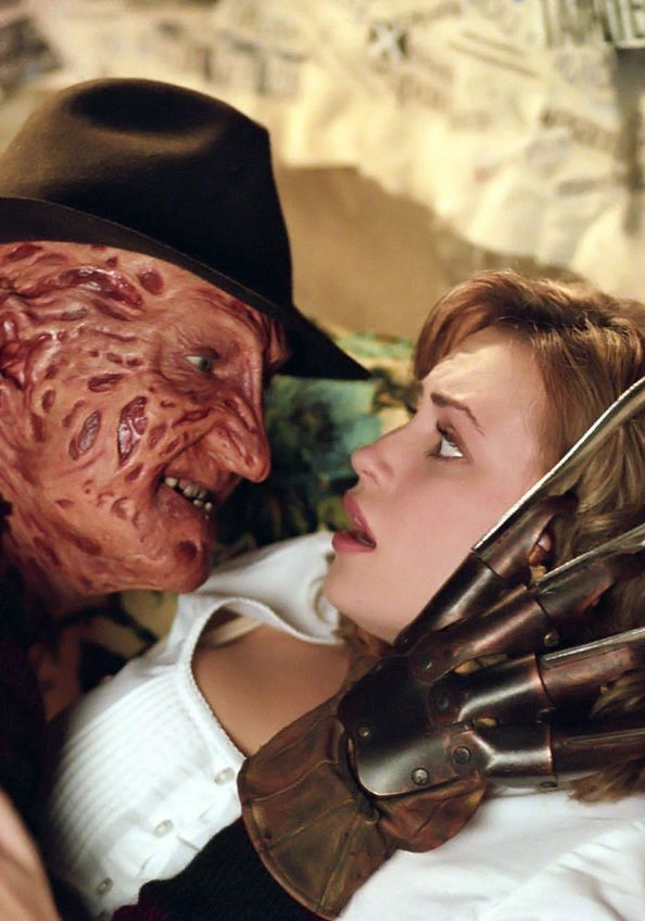 Villains And Victims — Robert Englund as Freddy Krueger and Monica Keena...
