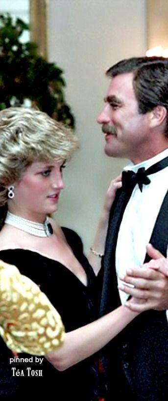 ❈Téa Tosh❈Princess Diana Dances With Tom Selleck