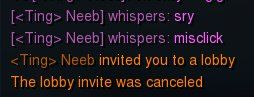 Neeb misclicks! Hope he works on this before Blizzcon...