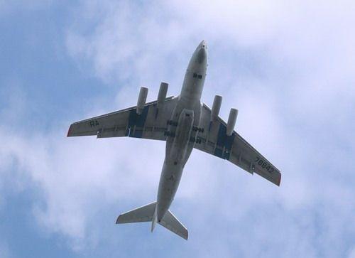 Ilyushin Il-76 freighter