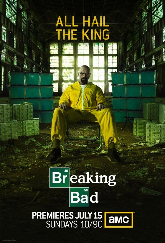Póster oficial de la última temporada de Breaking Bad. #BreakingBad